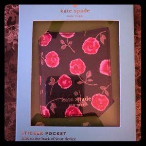 kate spade Hazy Rose Sticker Pocket ❤️